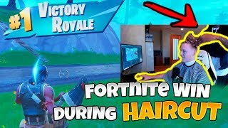 Tfue Gets A Win During Haircut | NEW Grappling Hook Funny Moments Fortnite