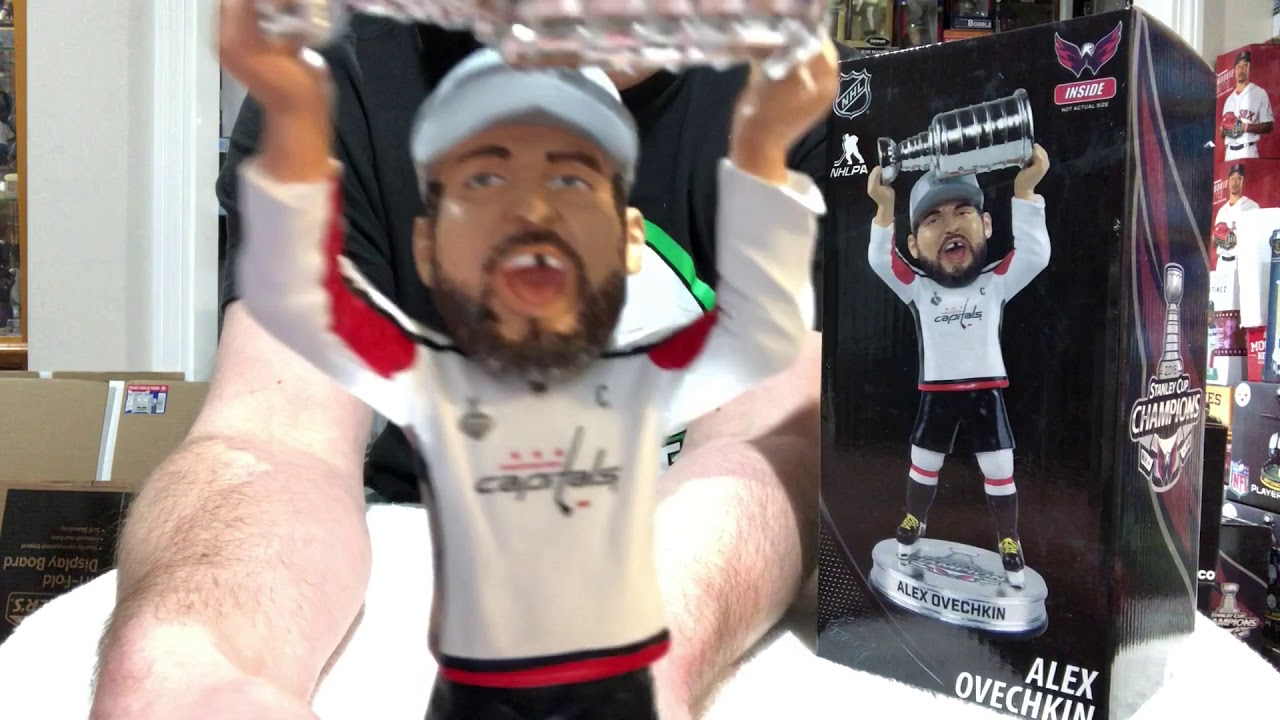 d789401d1c2 Bobble Sniper Youtube Episode  101 Alex Ovechkin Washington Capitals  Stanley Cup Champion Bobblehead
