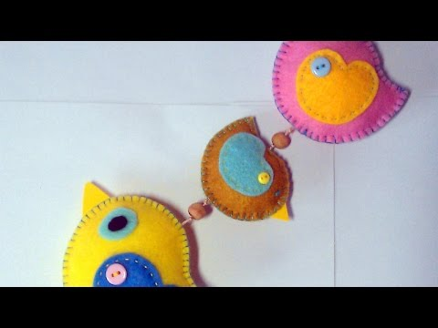 Make a Cute Hanging Felt Bird Decoration – DIY Home – Guidecentral