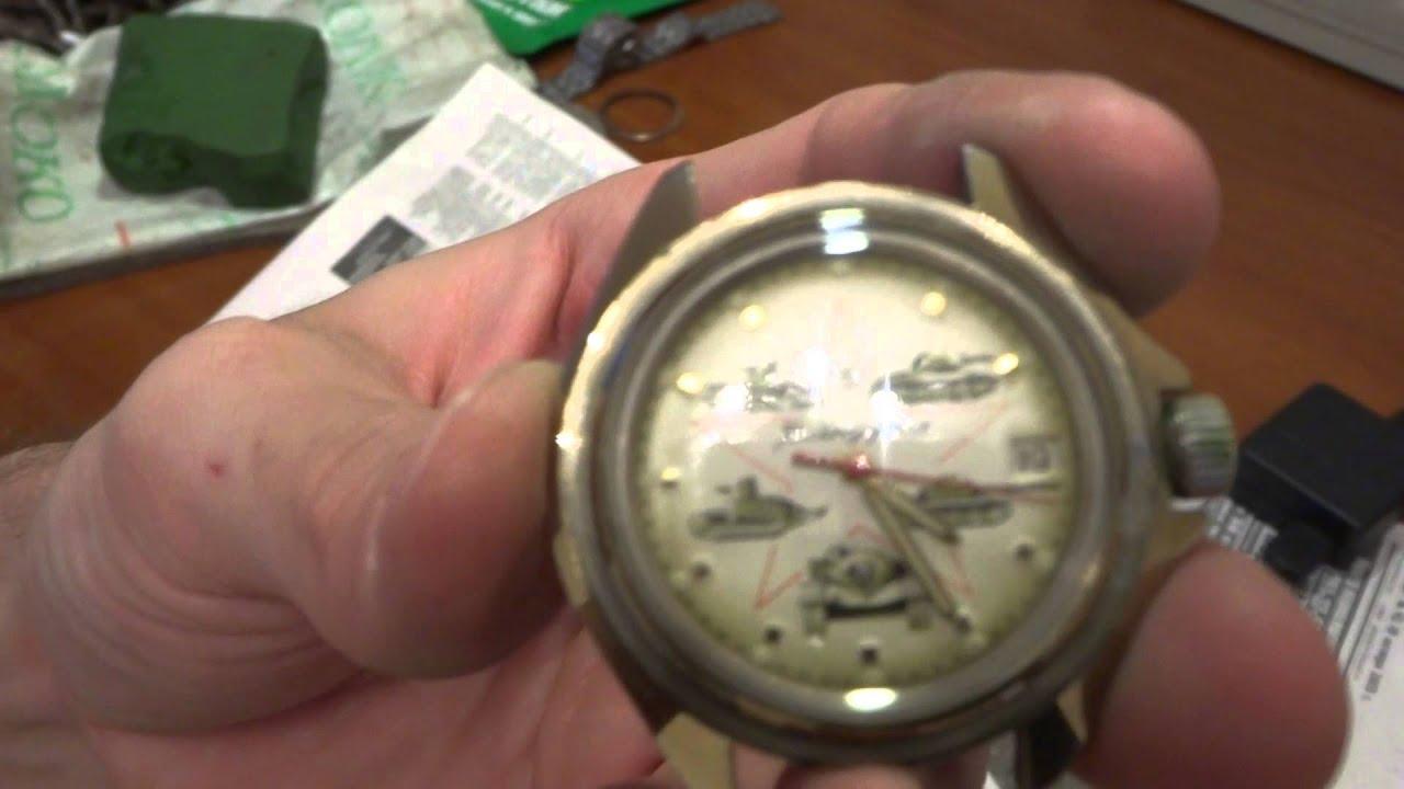 Ремонт своими руками командирских часов