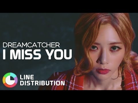 DREAMCATCHER - I Miss You | Line Distribution