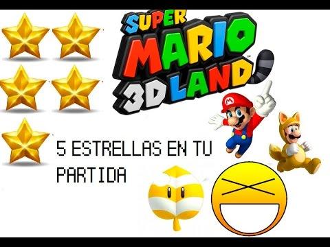 Como obtener las cinco estrellas en Super Mario 3D Land
