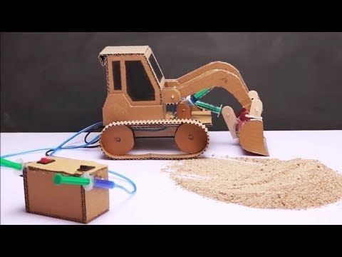 How To Make JCB at Home | JCB at Home DIY