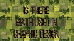 Is math used in graphic design?