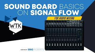 Sound Board Basics on Singnal Flow for Audio Mixing Lesson 1