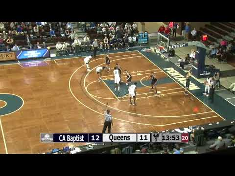 Todd Withers Full Game Film (#33 White) | Queens University vs Cal Baptist