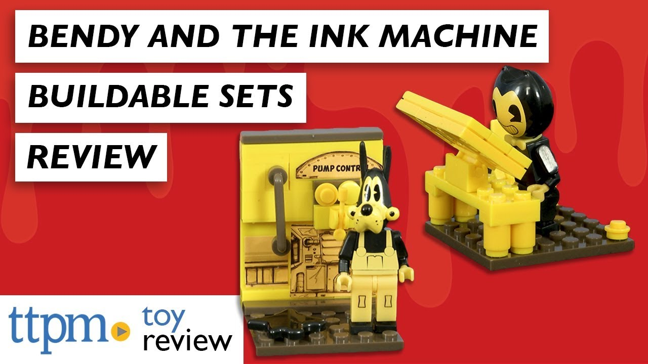 Bendy And The Ink Machine Sammy Mini Figure Buildable Set Construction BATIM