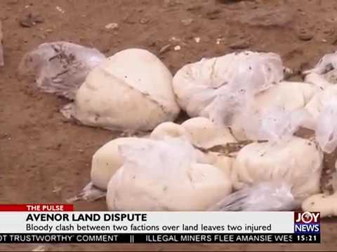 Avenor Land Dispute - The Pulse on JoyNews (2-8-17)