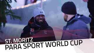 World Cup rehearsal in St. Moritz | IBSF Para Sport Official