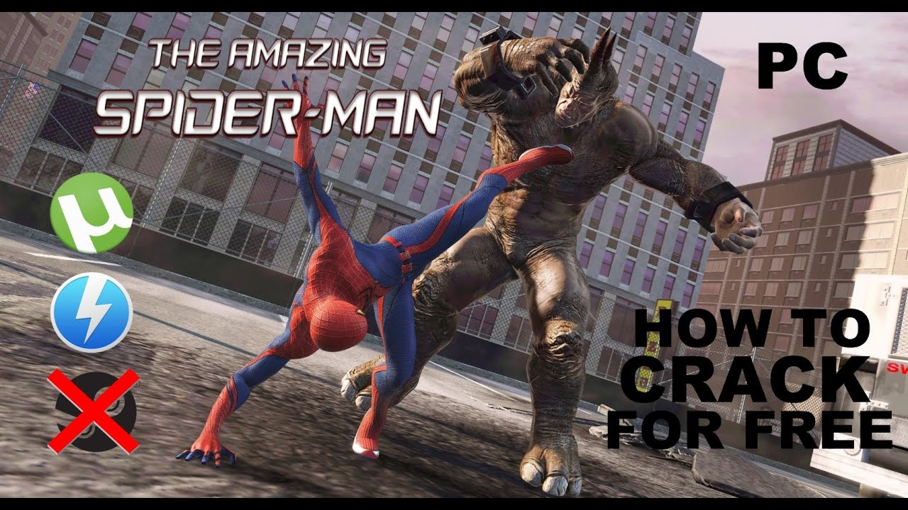 the amazing spider man pc game skidrow crack