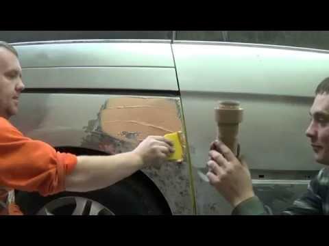 Как покрасить пороги на авто своими руками