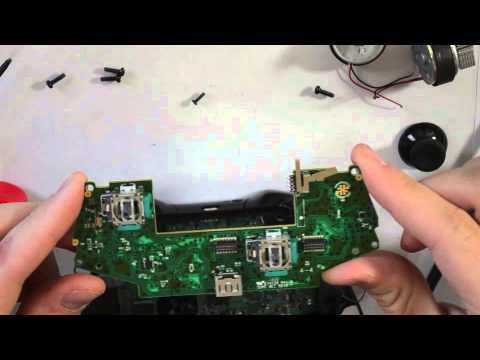 Xbox One Controller teardown, disassembly, LED Swap of X1