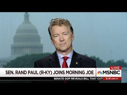 Sen. Rand Paul: Legalize inexpensive insurance - June 23, 2017