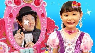 소피루비 화장품 궁전 화장대 드레스 아기상어 장난감 놀이 indoor playground fun for kids | johny johny