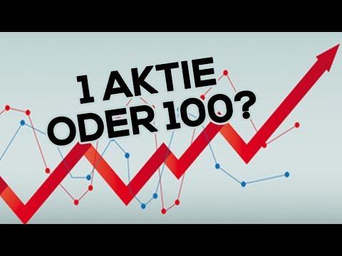 1 Aktie oder 100: Wie groß sollte Dein Depot sein?