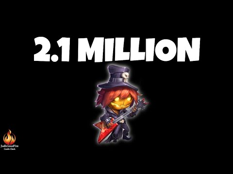 2.1 Million Might Account Castle Clash Altar Review