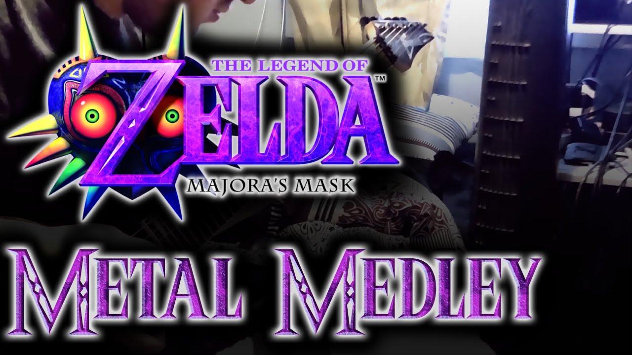 the legend of zelda majora s mask metal medley youtube