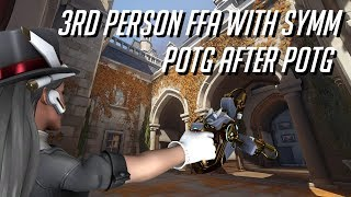 Playing Symmetra in 3rd person Overwatch Workshop