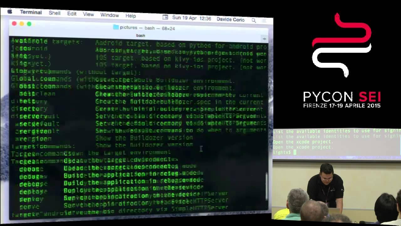 Image from Kivy RAD Python per lo sviluppo di applicazioni mobile e non solo.