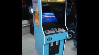 1985 Nintendo Excitebike Arcade Game!  Gameplay, Artwork video!