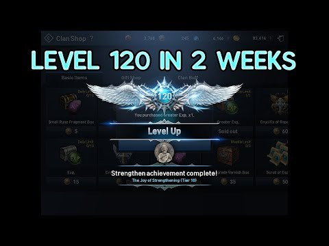 How to get 120 in 2 Weeks in Lineage 2 Revolutions with Bluestacks