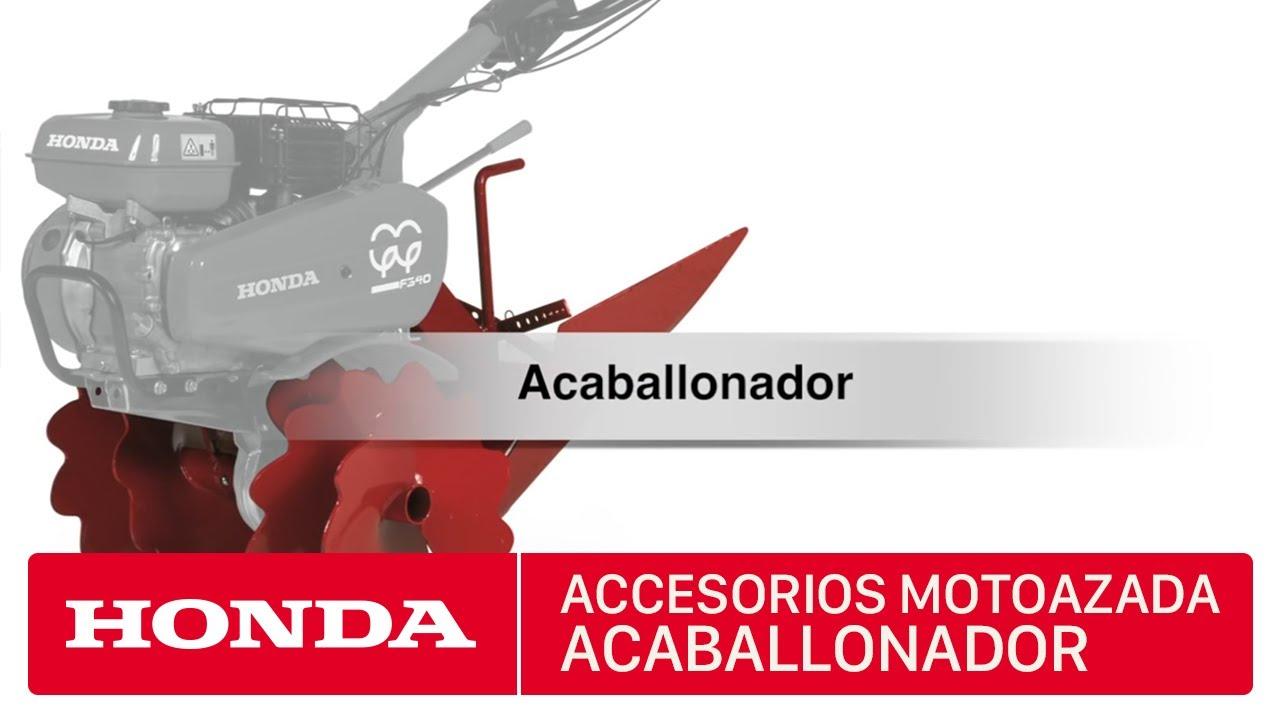 Accesorios para motoazadas honda acaballonador youtube for Accesorios para toldos de balcon