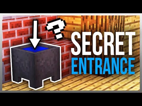 ✔️ 3 SECRET Entrances You NEED to Build! (Tutorials Included)