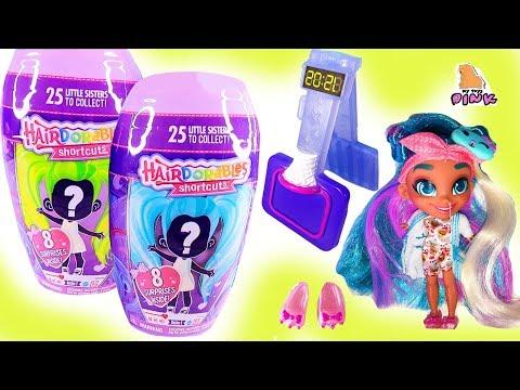 СЕСТРЕНКИ! КУКЛЫ HAIRDORABLES + КУКЛЫ ЛОЛ! Lil Sisters + Big Sisters Series 3 + Shimmer Pets Dolls