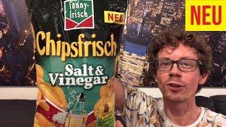 Funny Frisch Chipsfrisch Salt & Vinegar im Test: Lohnt sich die neue Sorte?