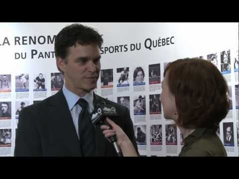 Entrevue avec Luc Robitaille / Interview with Luc Robitaille