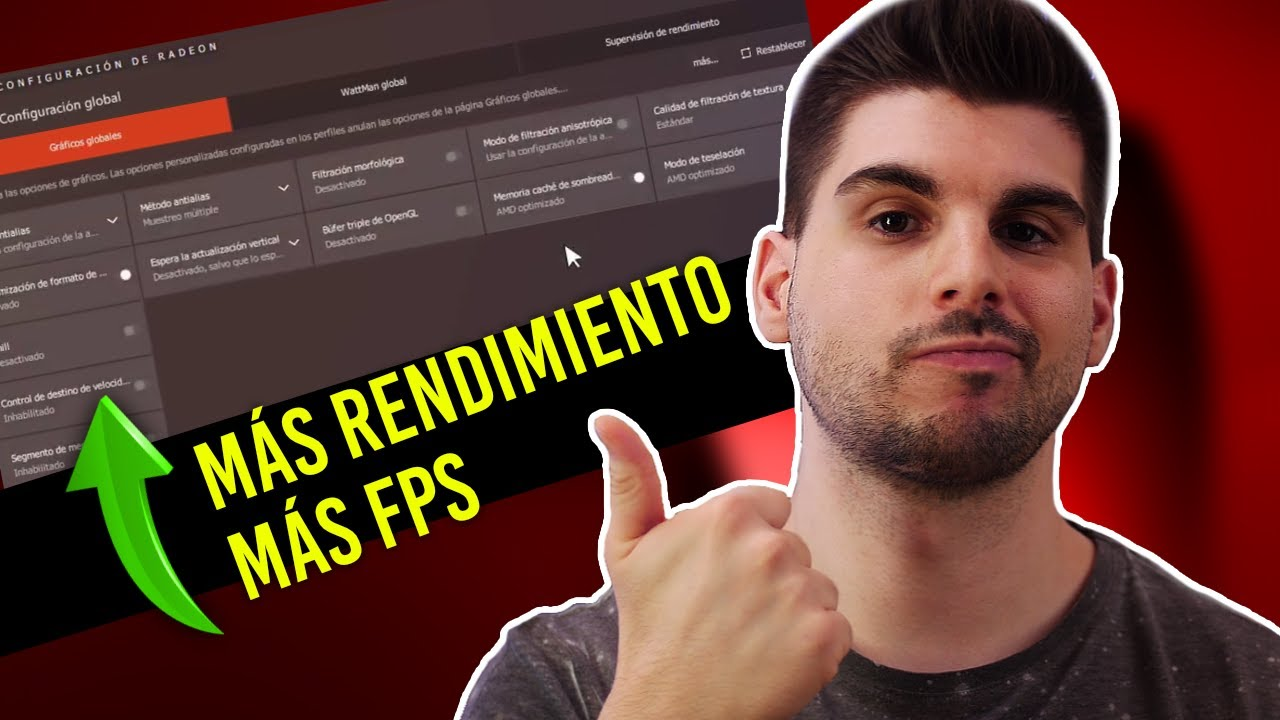 Cómo optimizar tu tarjeta gráfica AMD para AUMENTAR FPS en FORTNITE, League Of Legends, CSGO, PUBG