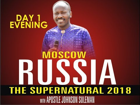 The Supernatural - Moscow, Russia - Day 1 Evening