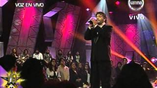 "Yo Soy Andrea Bocelli -- ""Por ti volaré"" (17/06/2013)"