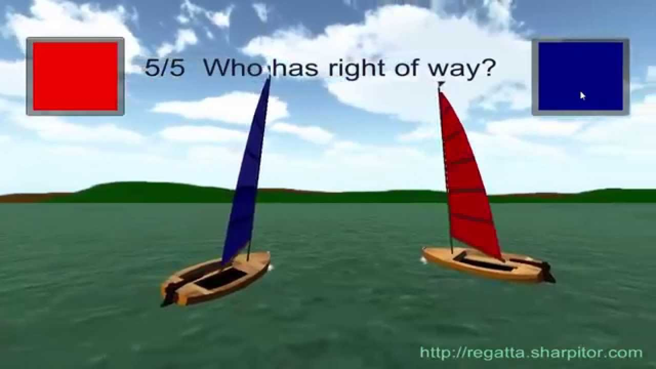 Sailing Right of Way - YouTube