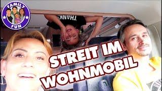 10 STUNDEN im WOHNMOBIL - STREIT während der FAHRT? - Family Fun