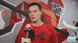 Илья Ежов: В Финляндии был быстрый хоккей!