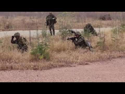 Dawn Blitz 2013 Japanese Ground Self Defense Force Patrol Exercise