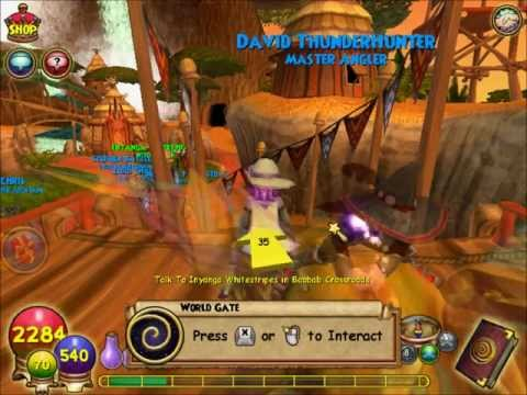 Wizard101: Zafaria Walkthrough #1