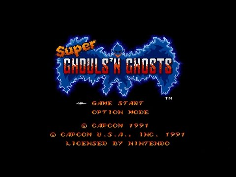 Super Ghouls N Ghosts - SNES Lonplay (Perfect Run, Secret En