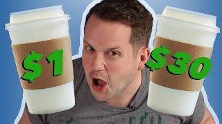 We Try To Guess $1 Vs. $30 Coffee
