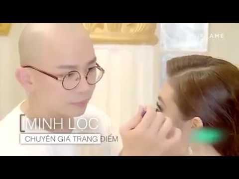 Chuyên gia trang điểm Minh Lộc và thí sinh Miss Universe 2017