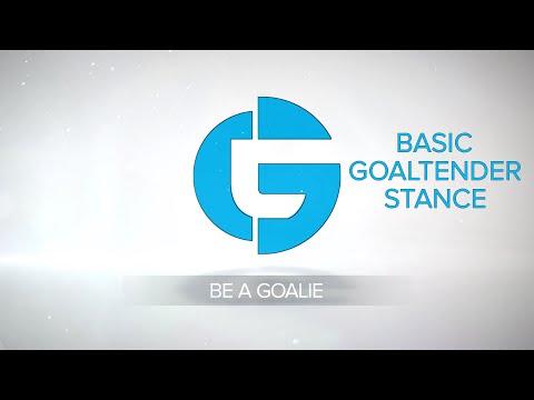 Basic Goaltender Stance