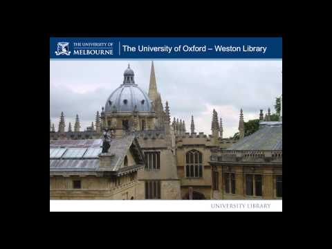 Annual University Librarian's Lecture