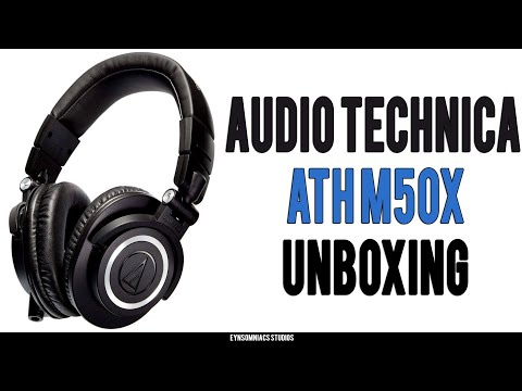 Audio Technica ATH M50x Headphones Unboxing   Hindi