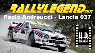 Rally Legend 2011 - Paolo Andreucci - Lancia 037 - H.R.rallystudio