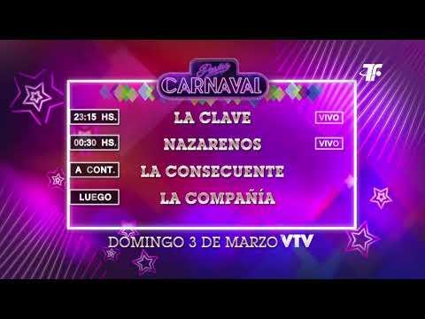 Agenda Carnaval – Domingo 3 de Marzo