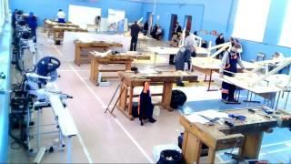 Прямая трансляция Чемпионата Московские мастера в 26КАДР по компетенции «Плотницкое дело»