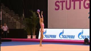 Yana Kudryavtseva Ball - GAZPROM Gymnastik-Weltcup 2014