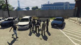 GTA 5 Police ManHunt Most Wanted [HD]