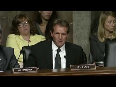 Sen. Flake Questions Sec. Kerry on Iran Nuclear Deal